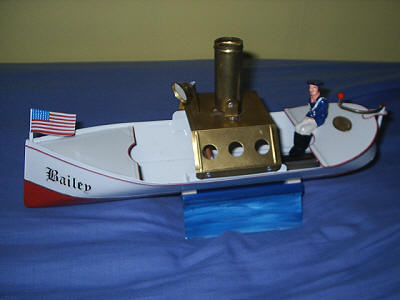 Coil powered boat